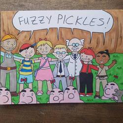 Fuzzy Pickles 32 by ferret-250