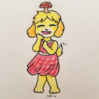 Isabelle is feeling funky!