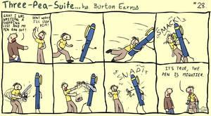 No. 28 - Pen by burtonearny