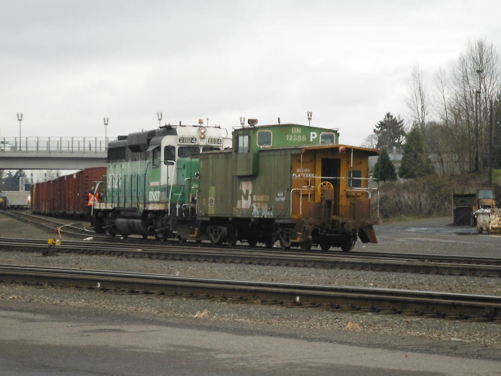 GP30 With Matching Caboose by TomRedlion