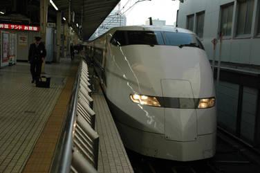 Tokyo Shinkanse bullet train by RyuuYagami