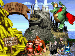 Donkey Kong Country Poster by yellowheadcompany