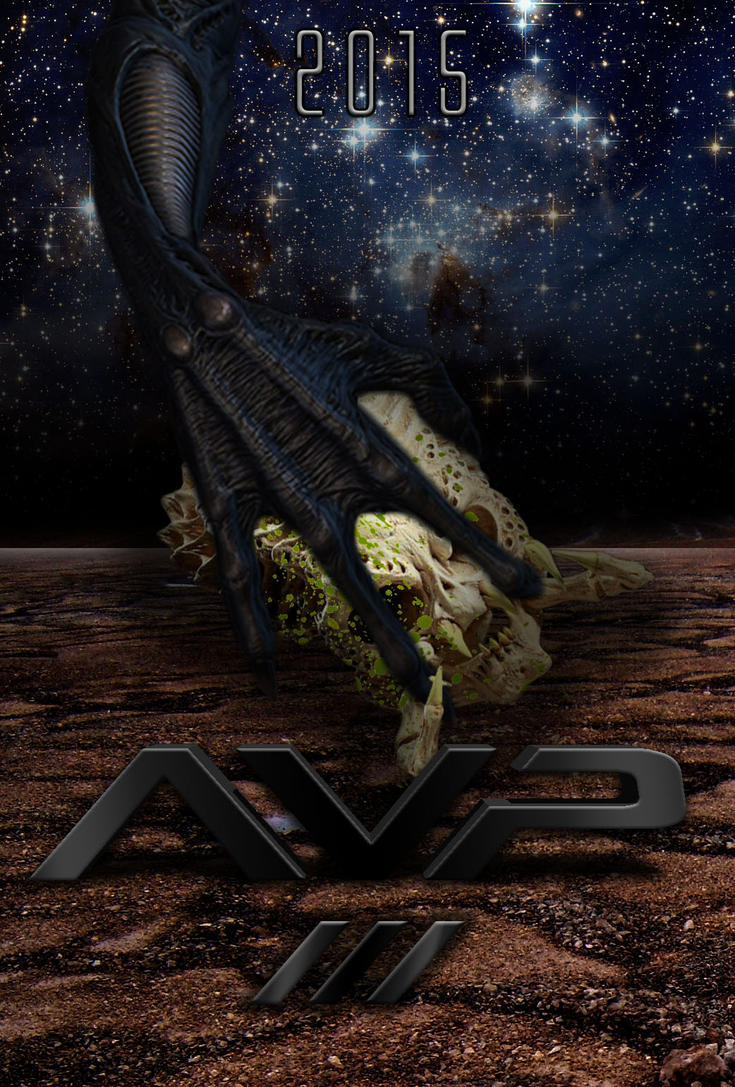 AVP 3 fan poster - AvP Forum