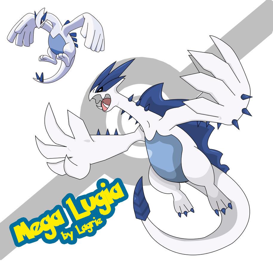 Lugia Mega Evolution Mega Lugia by lagrie