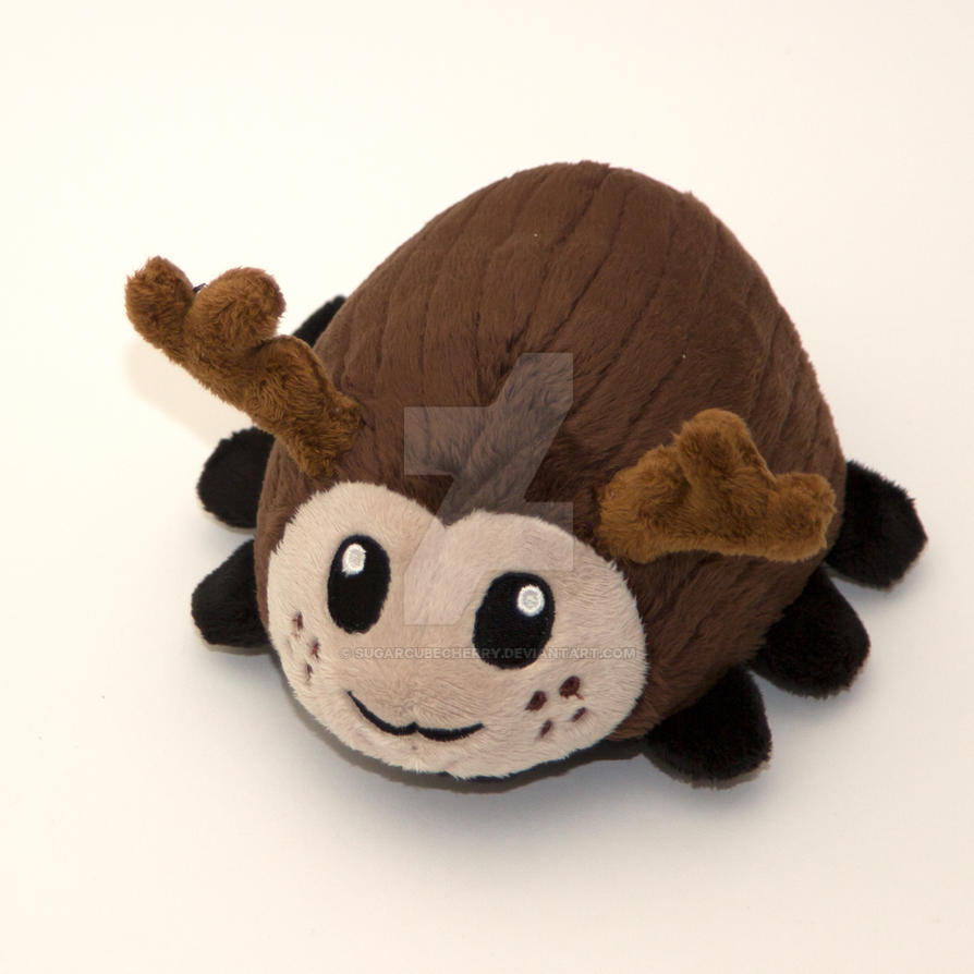 Custom stag beetle plush by SugarcubeCherry