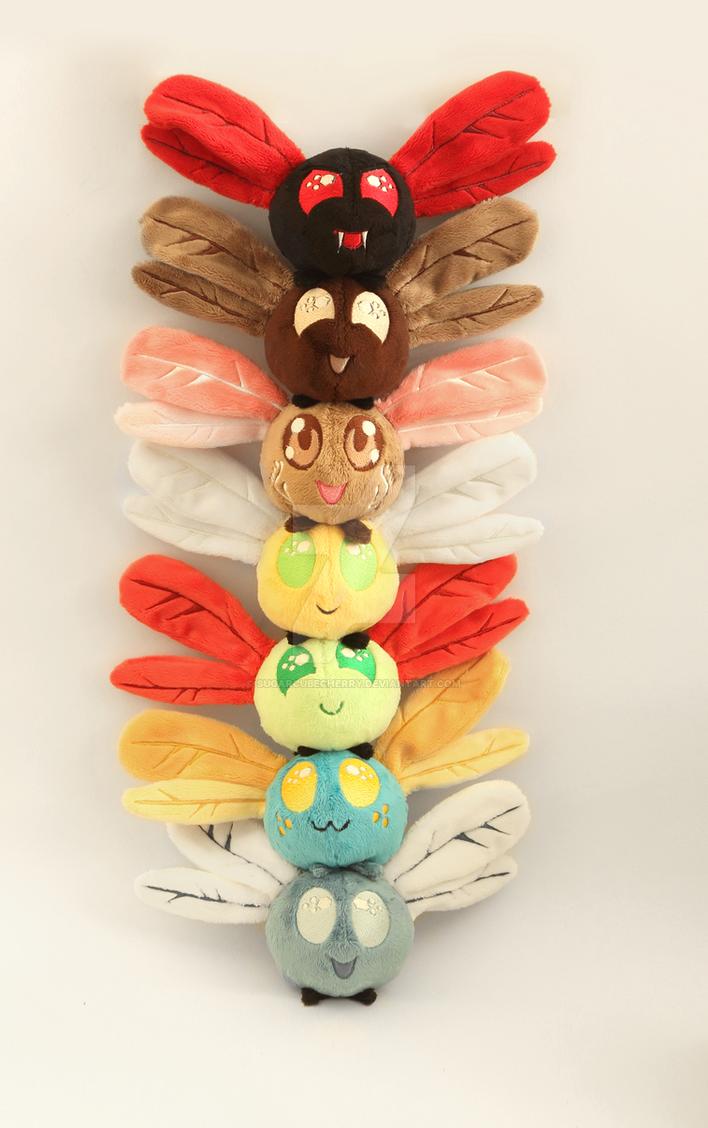 Parasprite totem pole by SugarcubeCherry