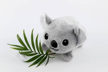 Chibi koala pebble plushie by SugarcubeCherry