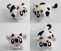 Cute little pebble cow plushie