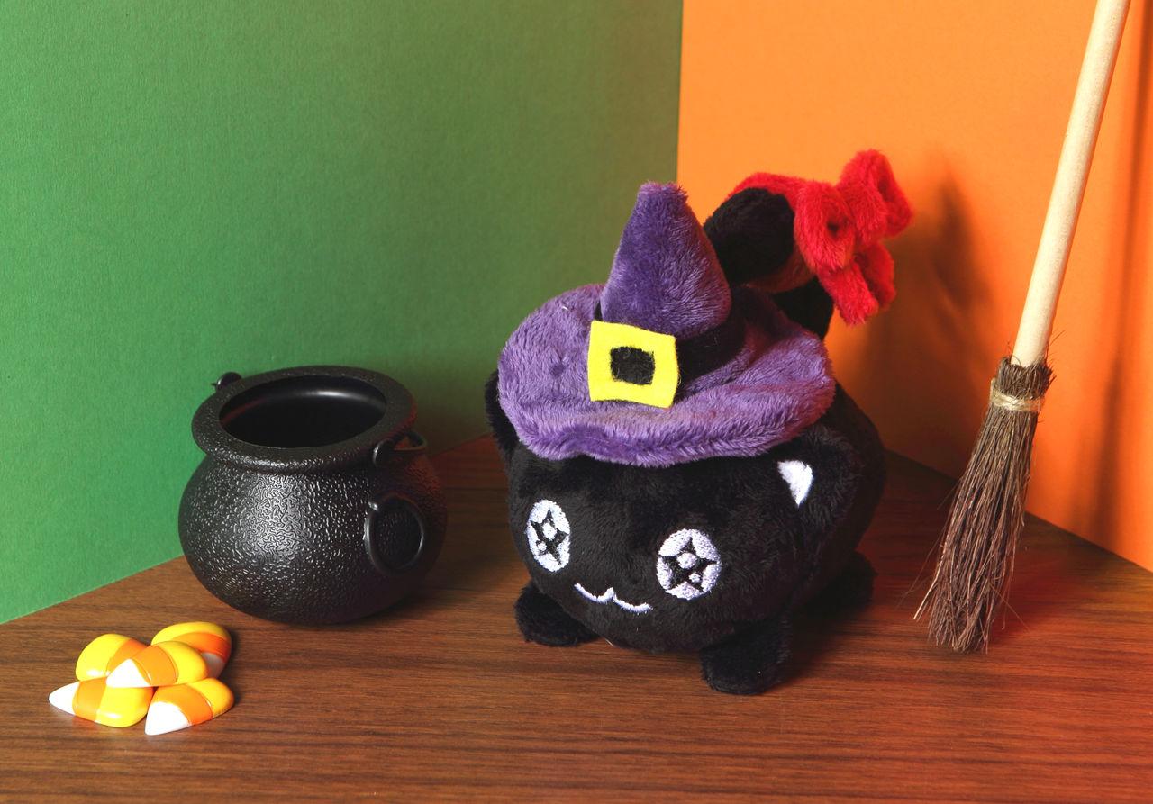 HallowKitty - witch familiar or familiar witch?