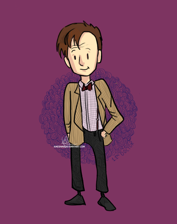 The Eleventh Doctor by Kaeshay