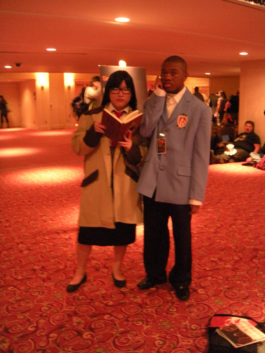 Yomiko Readman and the host by Kuro-hakase