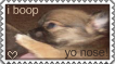 Boop yo nose stamp by Emmani-Nessa