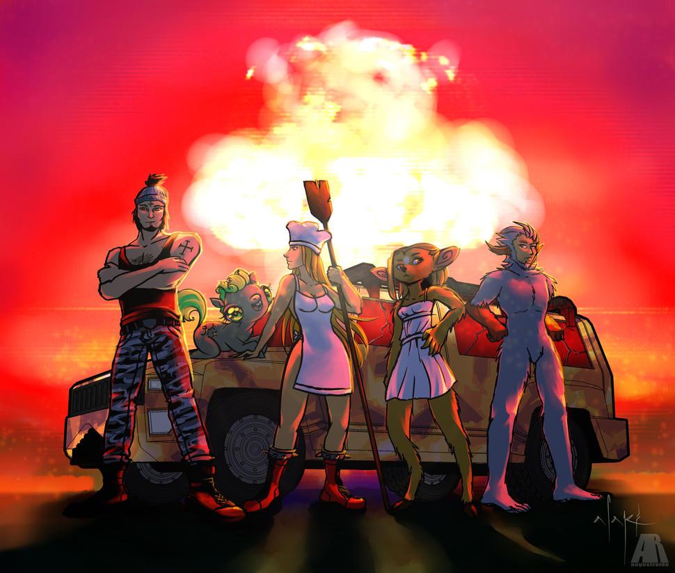 Armageddon by augustraido