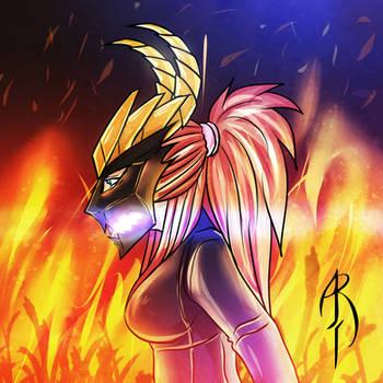 FIREHEAD by augustraido