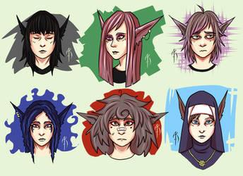 Master girls by augustraido