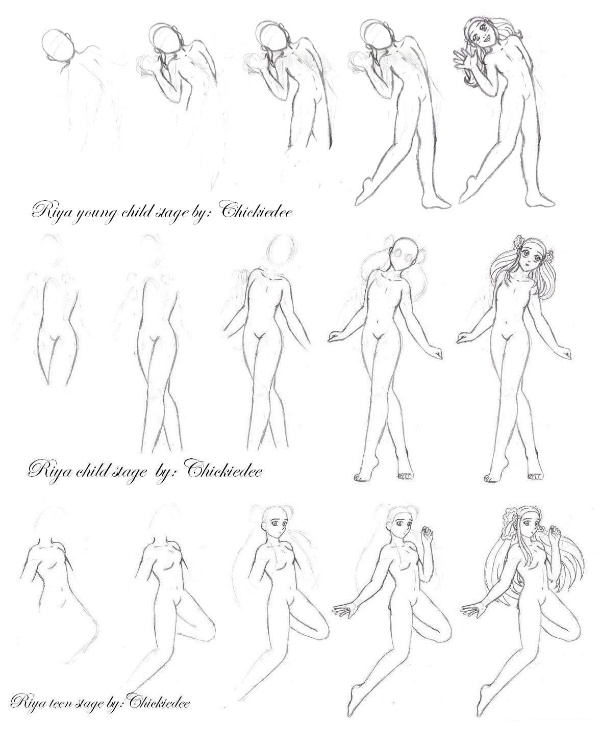 How i draw the female body by chickiedee on deviantart how i draw the female body by chickiedee ccuart Gallery