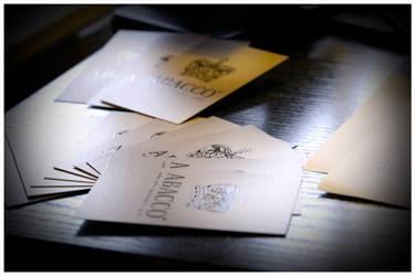 Abacco Business Cards by klosdafrau