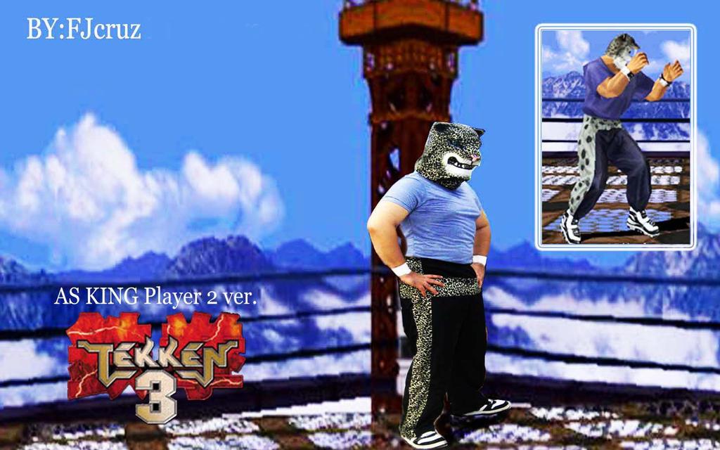 Tekken 3 King Cosplay By Fjcruz On Deviantart