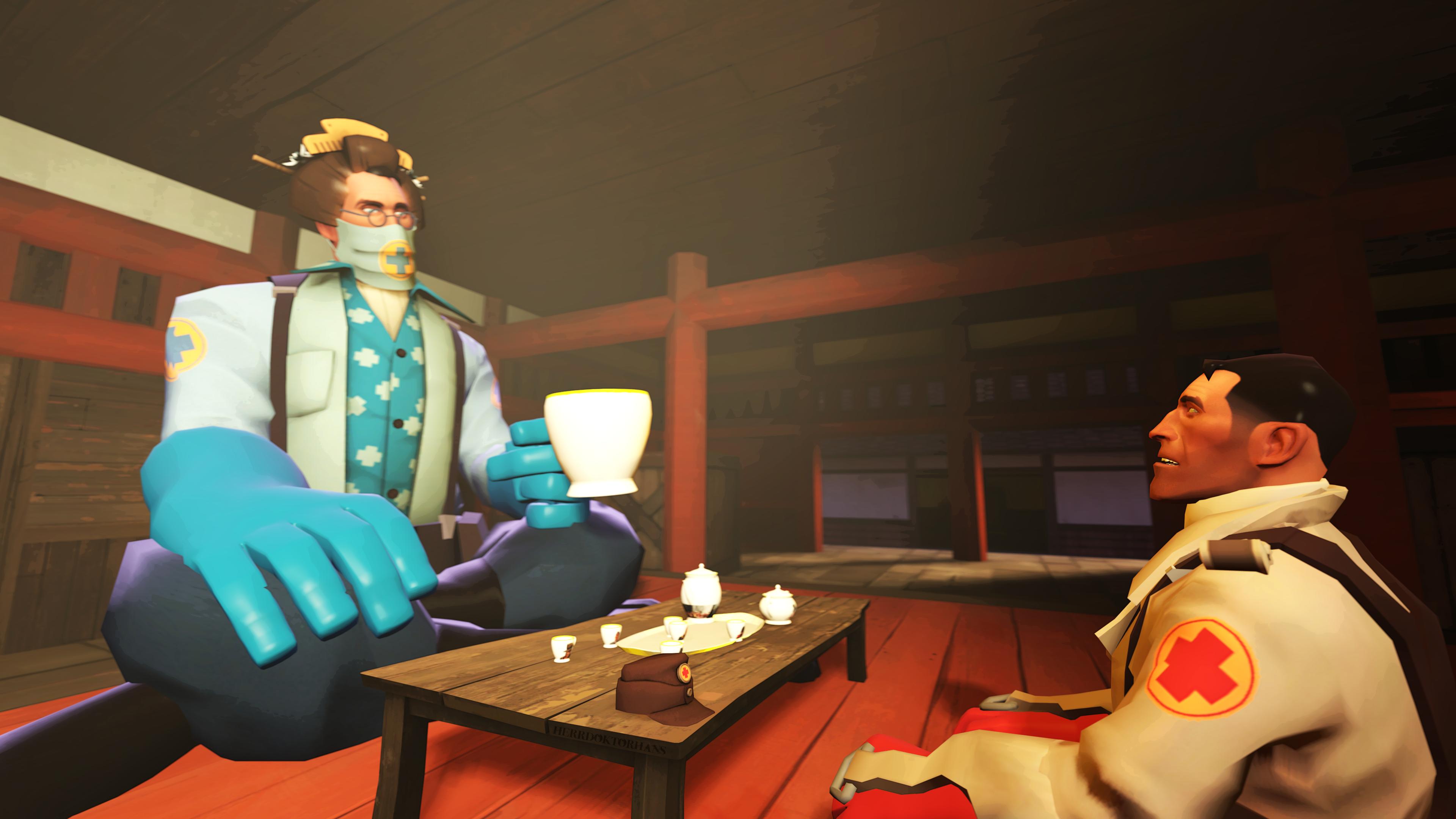 [SFM-CONTEST] Tea time by HerrdoktorHans