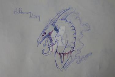 Zombie dragon by HerrdoktorHans