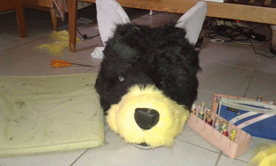 Toby 4 - bear by HUNDraGirl