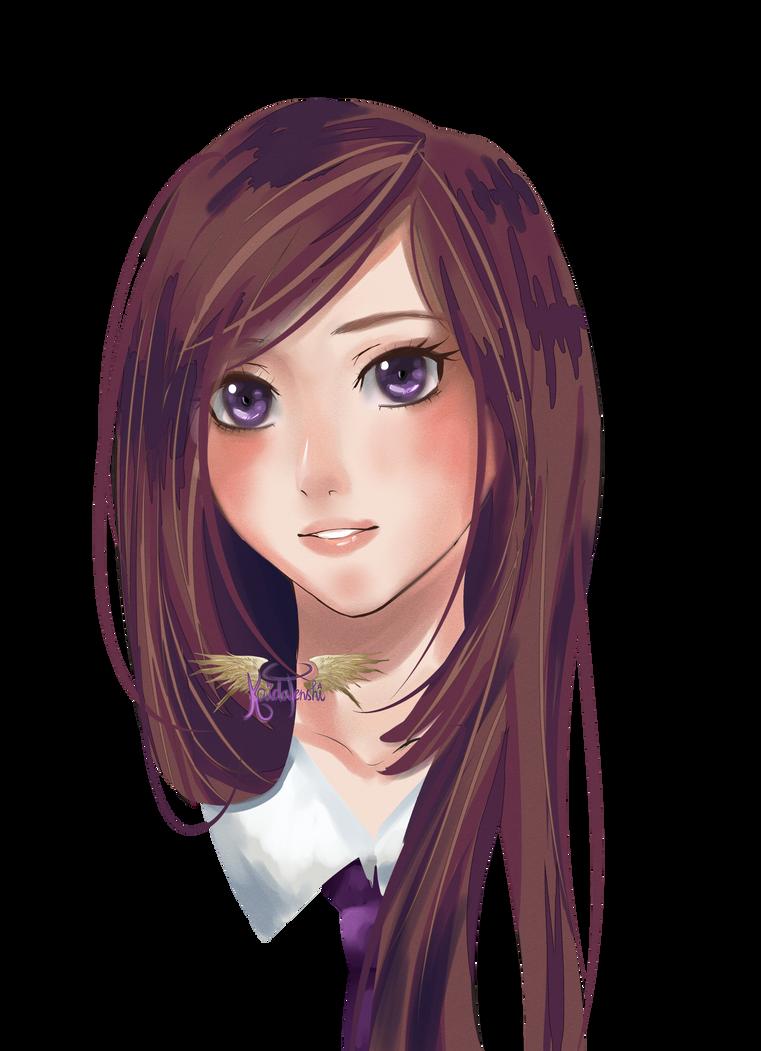 Portrait Practice by KaidaTenshi