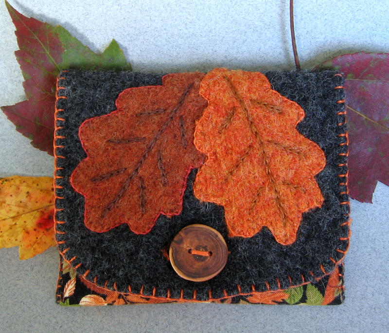 Autumn Wallet by fairiesnest