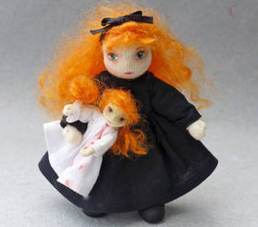 Katherine and her dolly