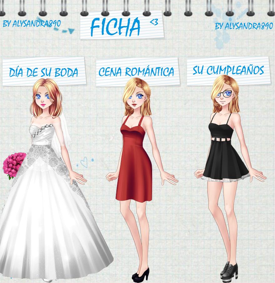 Ficha de alysandra890 by MicaelaW10000