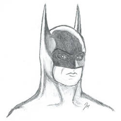 Batman (Pencil Sketch)