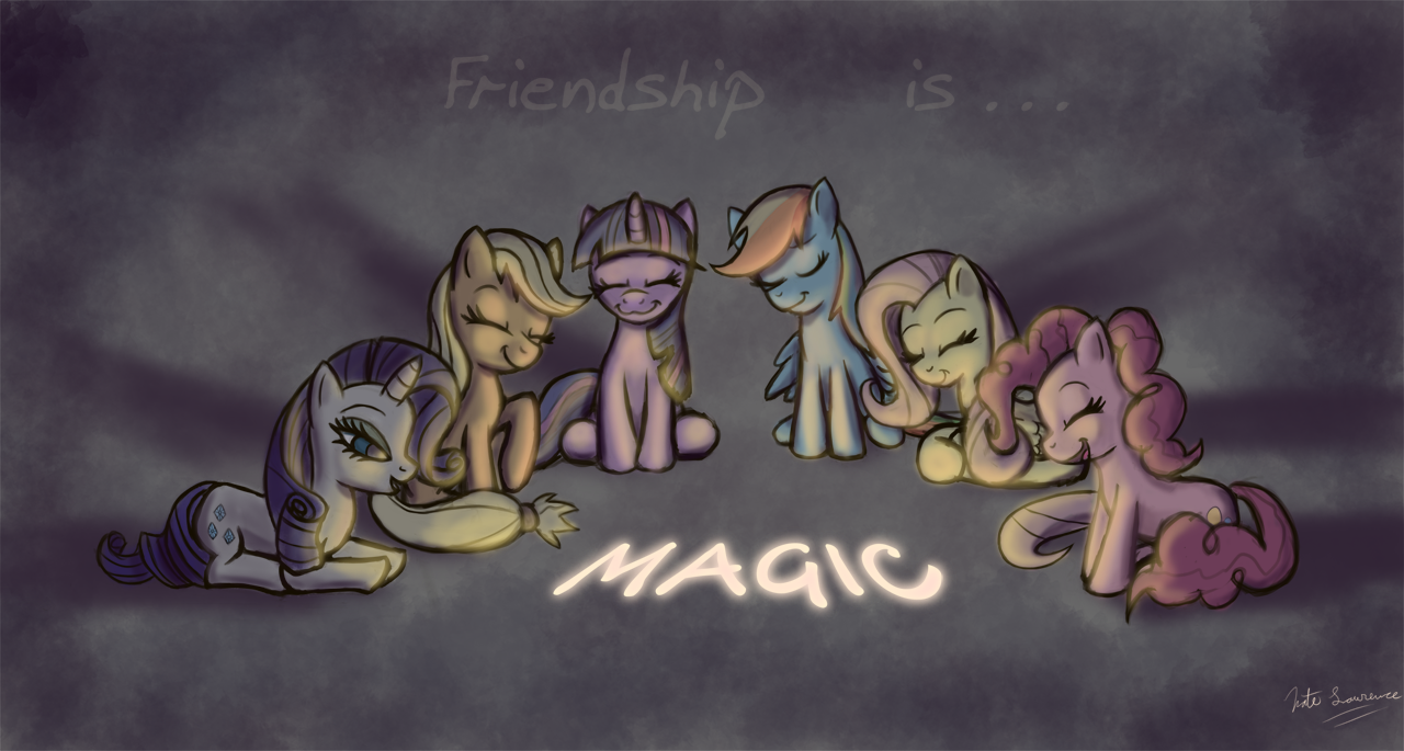 Friendship is... Magic by NaterRang