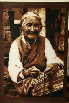 the tibetan lady