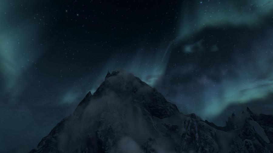 Aurora borealis 12 by Marina17