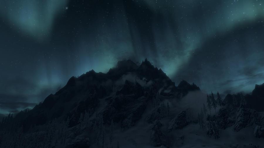 Aurora borealis 13 by Marina17