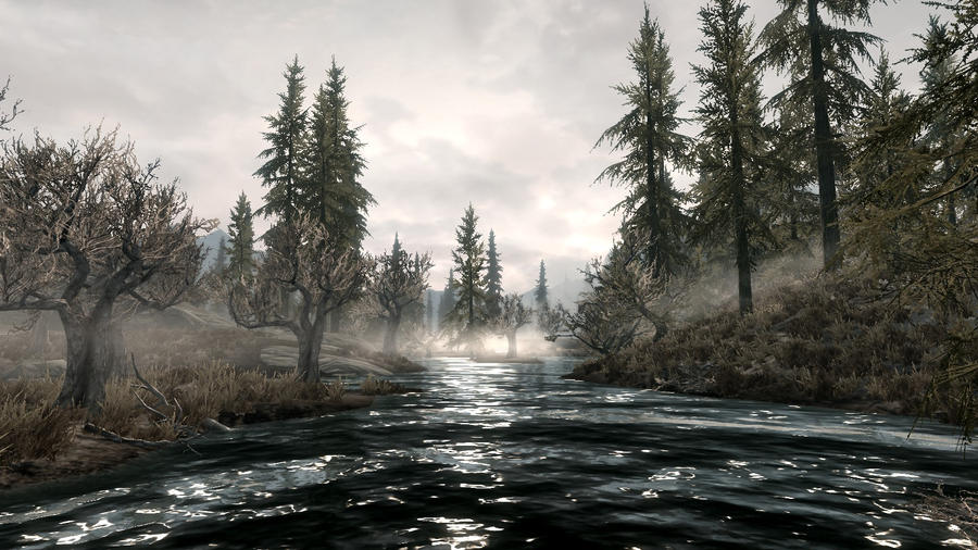 The Swamps of Hjaalmarch 1 by Marina17
