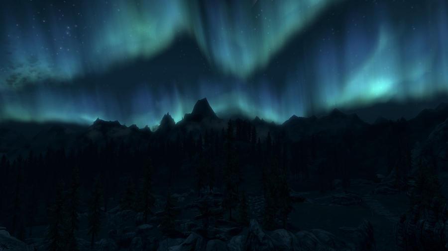 Aurora borealis 34 by Marina17