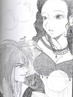 Labyrinth: Jareth and Sarah by Jyinxe