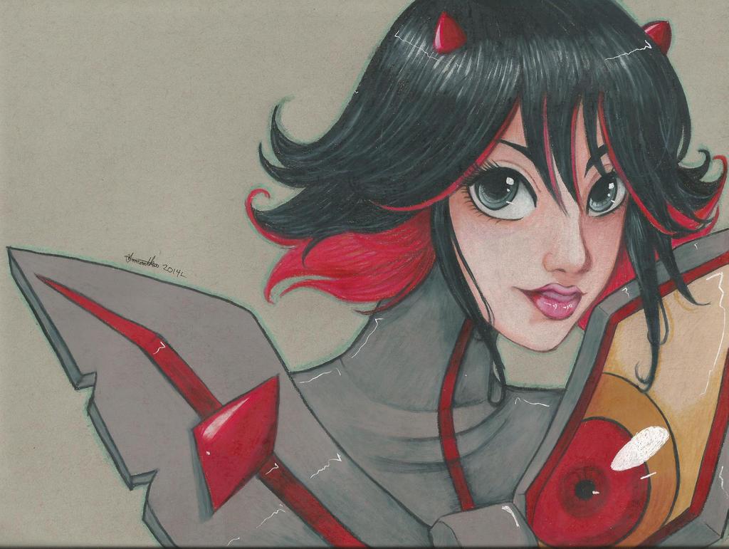 KLK:.:Ryuko Matoi:. by Jyinxe
