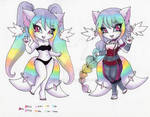 Kami Mod Exchange: Pastel Rainbow by Jyinxe
