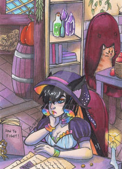 ACEO: Dungeons and Dainties - Makenzie