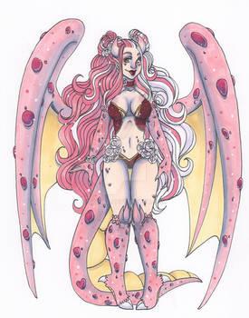 Dragon 27: Pink Crystal Rose