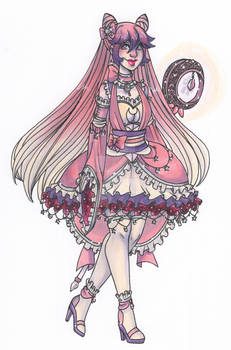 Gijinka Custom: Nickyflamingo15