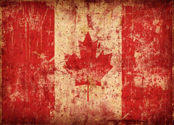 Canada Grunge by xxoblivionxx