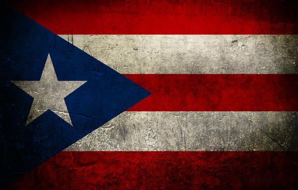Puerto Rico Flag Grunge By Xxoblivionxx