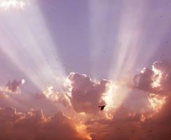 Heavenly sky-stock 1 by AJK-Original-Stock