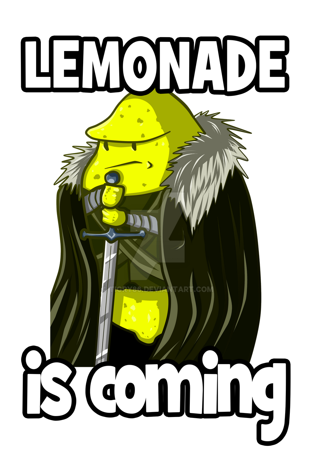 LEMONADE IS COMING by Tigry86
