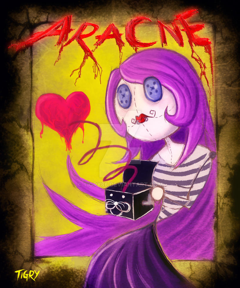 Aracne Phobia by Tigry86