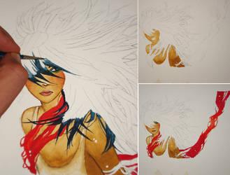 girl red by s4m-adamk0sh
