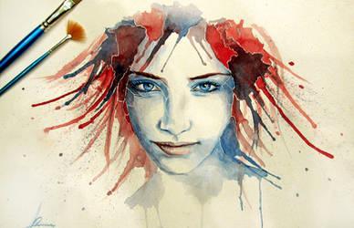 Red Blue by s4m-adamk0sh