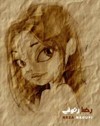 A Girl by s4m-adamk0sh